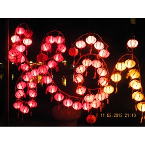 3 Wholesale: Vietnam HOI AN Silk Lanterns WEDDING PARTY - Wedding Home Decoration