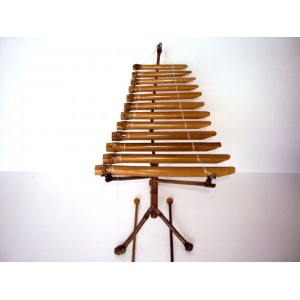 New Handmade Vietnamese Bamboo Xylophone Dan T'Rung -Traditional Instrument