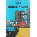 Vietnam Lacquer Art Paiting/ Plate - TINTIN - Destination Moon - Objectif Lune
