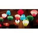 Set 50 pcs Vietnamese silk lanterns 16' for Christmas Decoration - New Year Decor -Wedding decoration