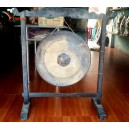 Handmade Vietnamese Brass Gong 20'' - for desk decorations - big gong