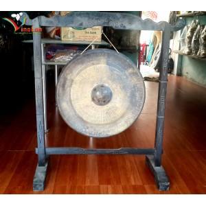 Handmade Vietnamese Brass Gong 20'' - for desk decorations - big gong