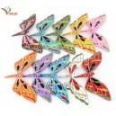 Handmade Painted Self Balancing Bamboo Butterfly - BB02