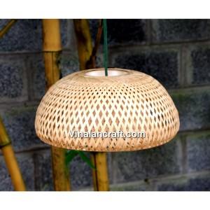 Handmade Bamboo Lamp for home decoration, 30cm diameter