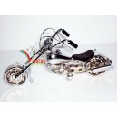 Hand Carved Metal Art Motorcycle  Model HARLEY DAVIDSON