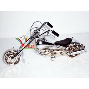 White Metal Motorcycle model - Miniature model