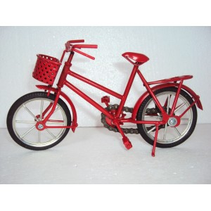 Handmade Miniature Metal Art Bicycle model