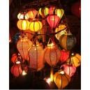 Vietnamese Mini Silk Lanterns 10cm -for  WEDDING PARTY - Home Decoration