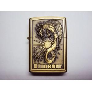 Hand Carved Lighter -Dinosaur War - Very nice - Handmde lighter